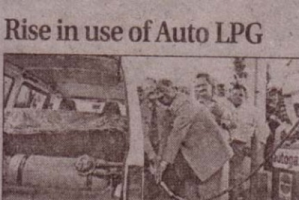Rise in Use of Auto LPG, Central Chronicle